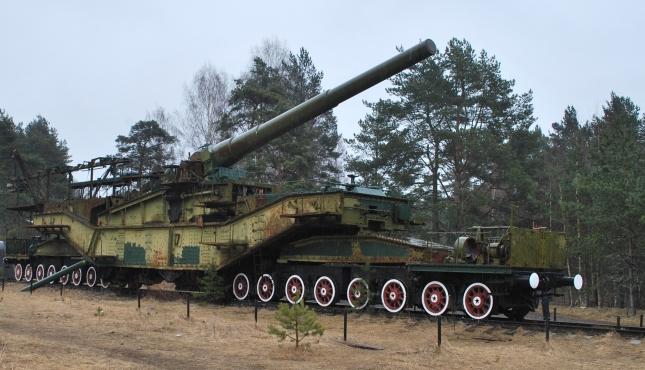 Форт Красная горка. Ж/Д артиллерийские транспортеры