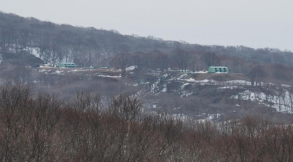 Ворошиловская батарея на острове Русский